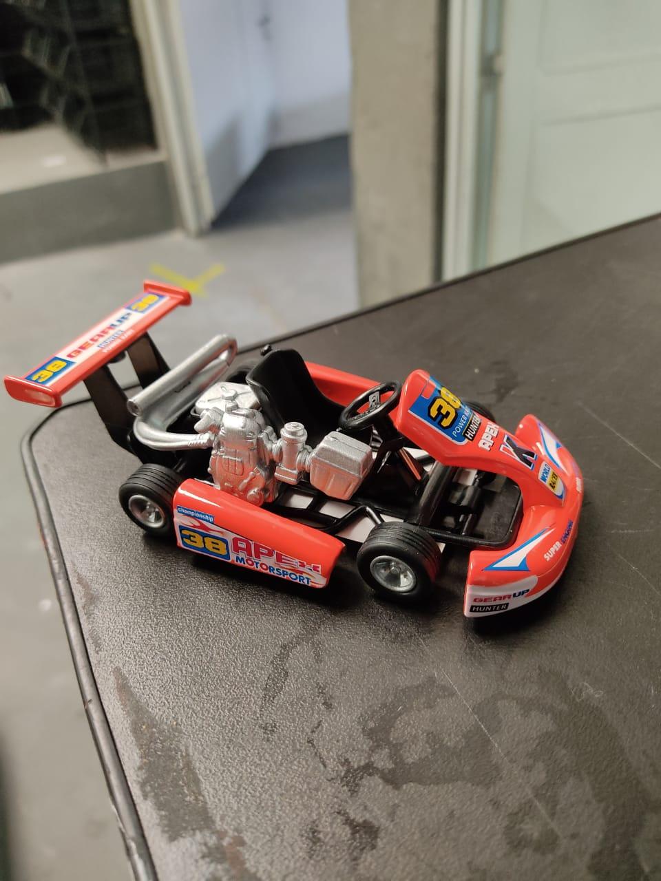 Miniatura Carro De Fricção kart: Turbo Go Kart (Sortidos)