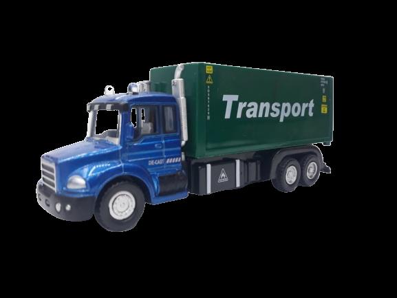 Miniatura Die-Cast Caminhão (Transport) Verde