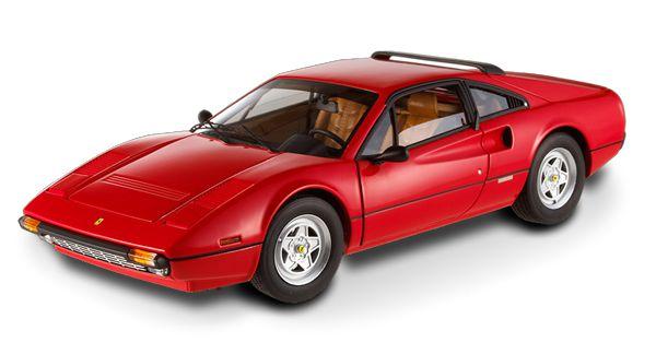 Miniatura Ferrari 308 GTB (Hot Wheels Elite) Escala 1/18