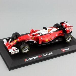 Miniatura Ferrari Sebastian Vettel: Fórmula 1 (Escala 1/32) - Burago