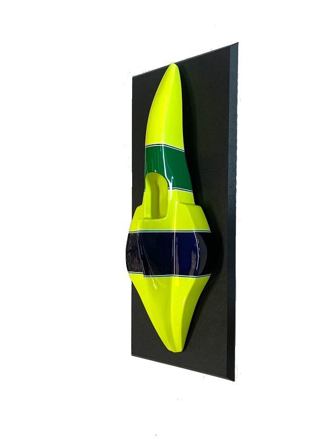 Miniatura  Formula 1 (F-1) (Moldura):  Especial Ayrton Senna - CG