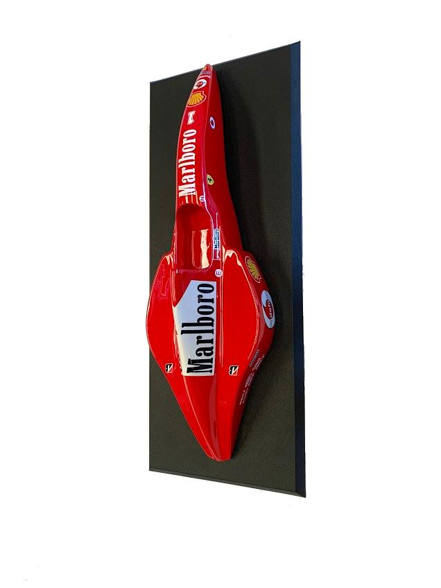 Miniatura  Formula 1 (F-1) (Moldura): Ferrari 2002 (Michael Schumacher) - CG
