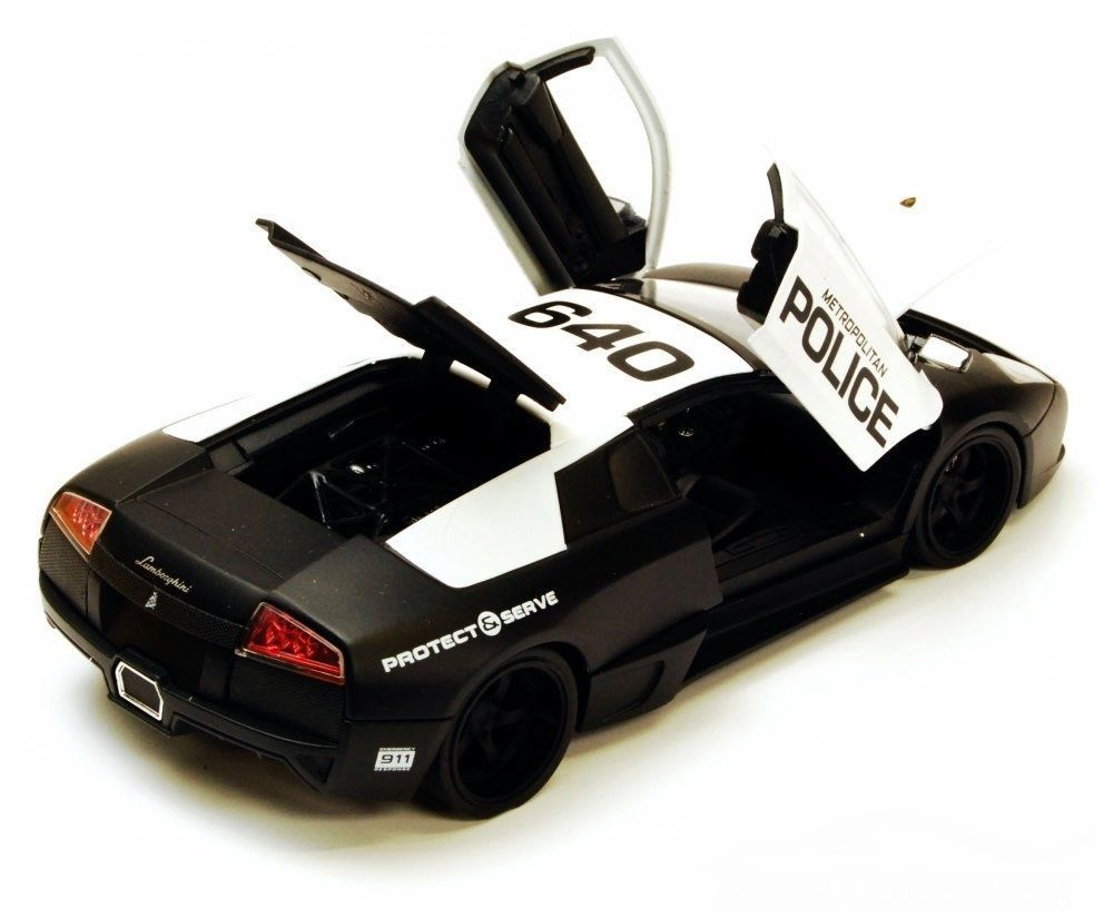 Miniatura Lamborghini Murcielago:  Metropolitan Police (LP640)