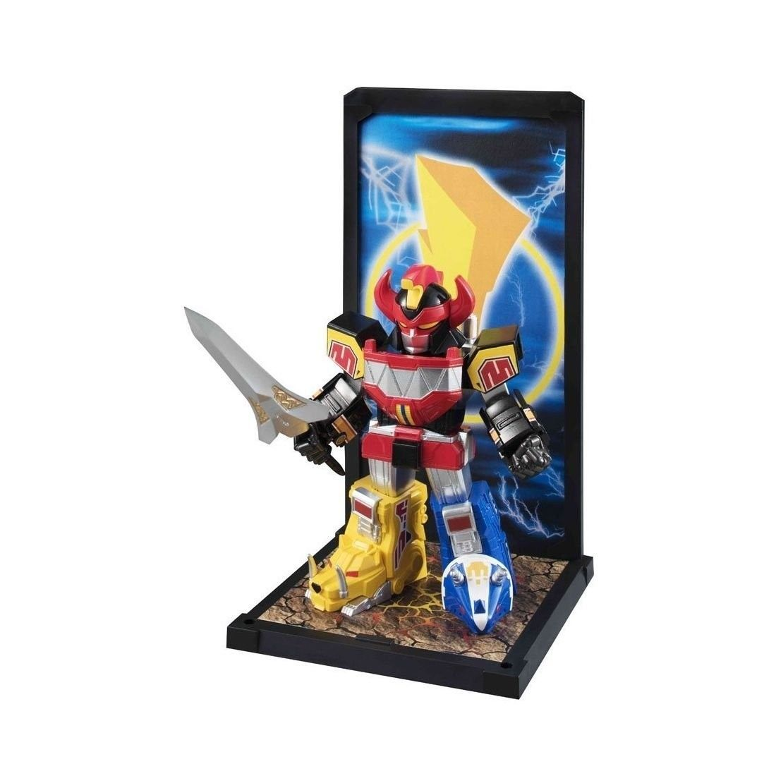 Miniatura Megazord: Power Rangers Tamashii Buddies - Bandai