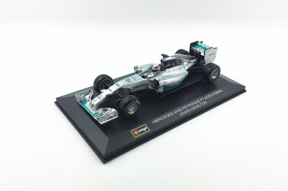 Miniatura Mercedes-AMG Petronas: Fórmula 1 (Escala 1/32) - Burago