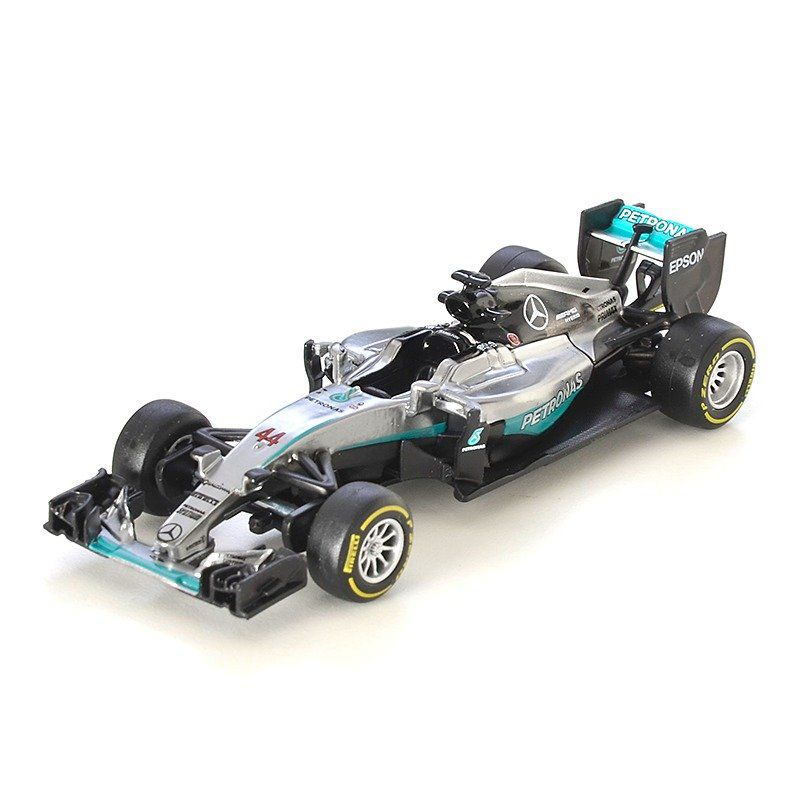 Miniatura Mercedez F1 W07 Hybrid Amg Petronas Número 44: Lewis Hamilton Fórmula 1 (1/43) - Bburago