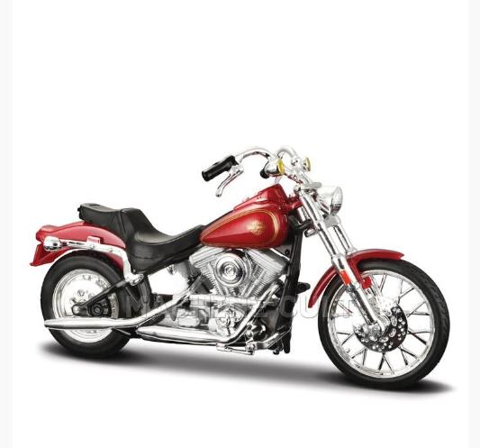 Miniatura Moto 1984 Softail: Harley Davidson (Serie 35) Escala 1/18 - Maisco