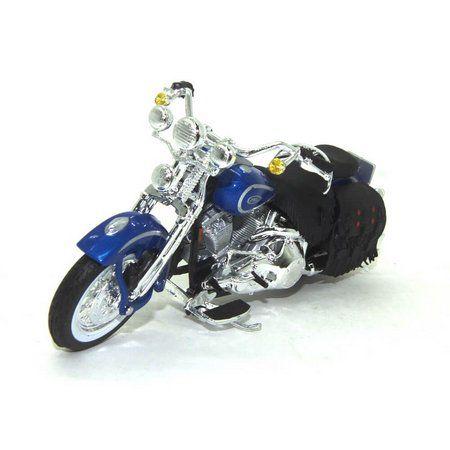 Miniatura Moto 1999 Heritage Springer: Harley Davidson (Serie 35) Escala 1/18 - Maisco