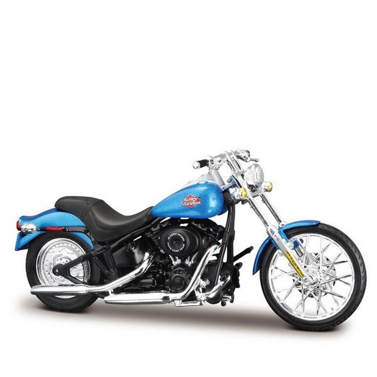 Miniatura Moto 2002 FXSBT Night Train: Harley Davidson (Serie 36) Escala 1/18 - Maisco