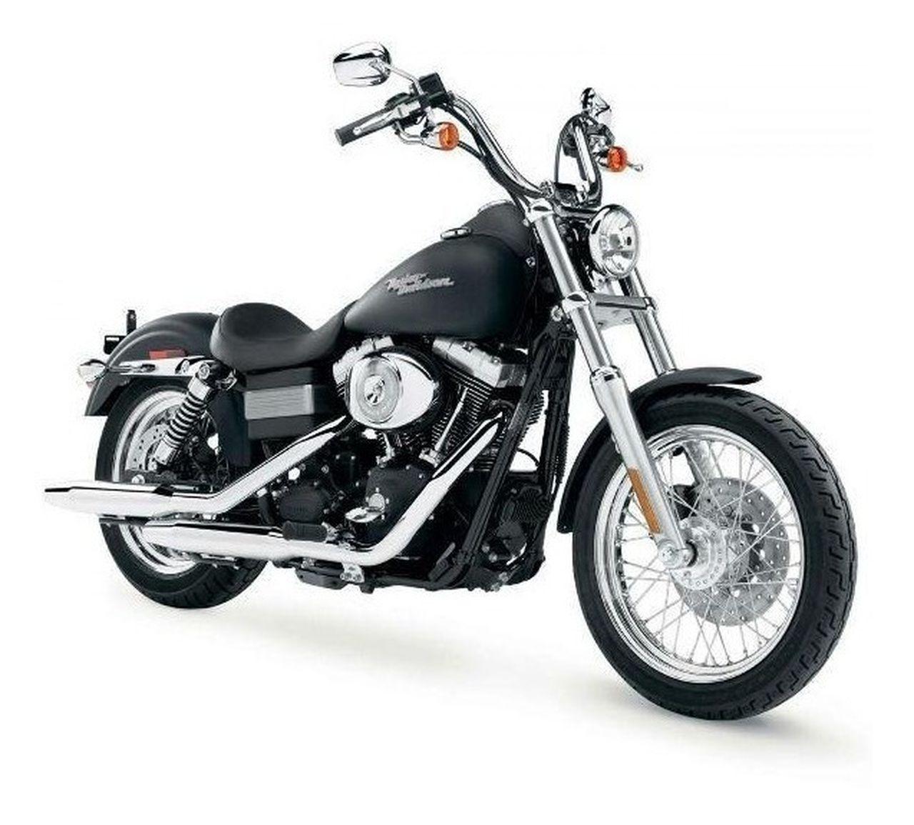 Miniatura Moto 2006 Dyna Street Bob: Harley Davidson (Serie 34) Escala 1/18 - Maisco