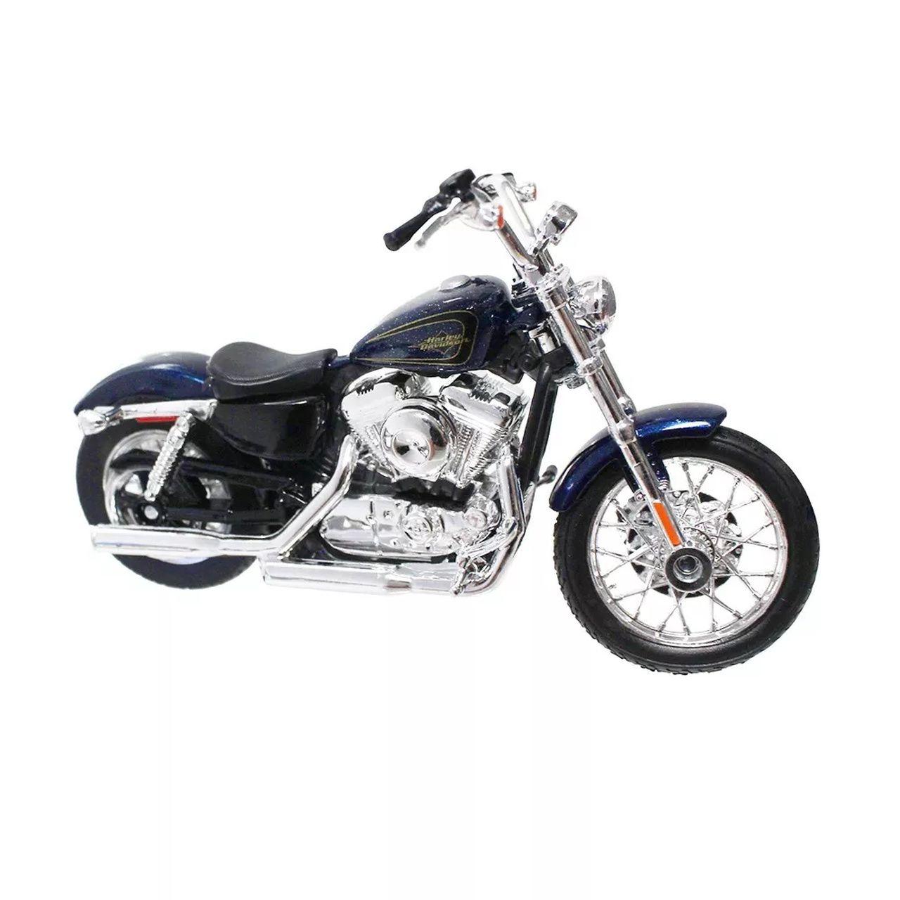Miniatura Moto 2012 XL 1200V Seventy-Two: Harley Davidson (Serie 34) Escala 1/18 - Maisco