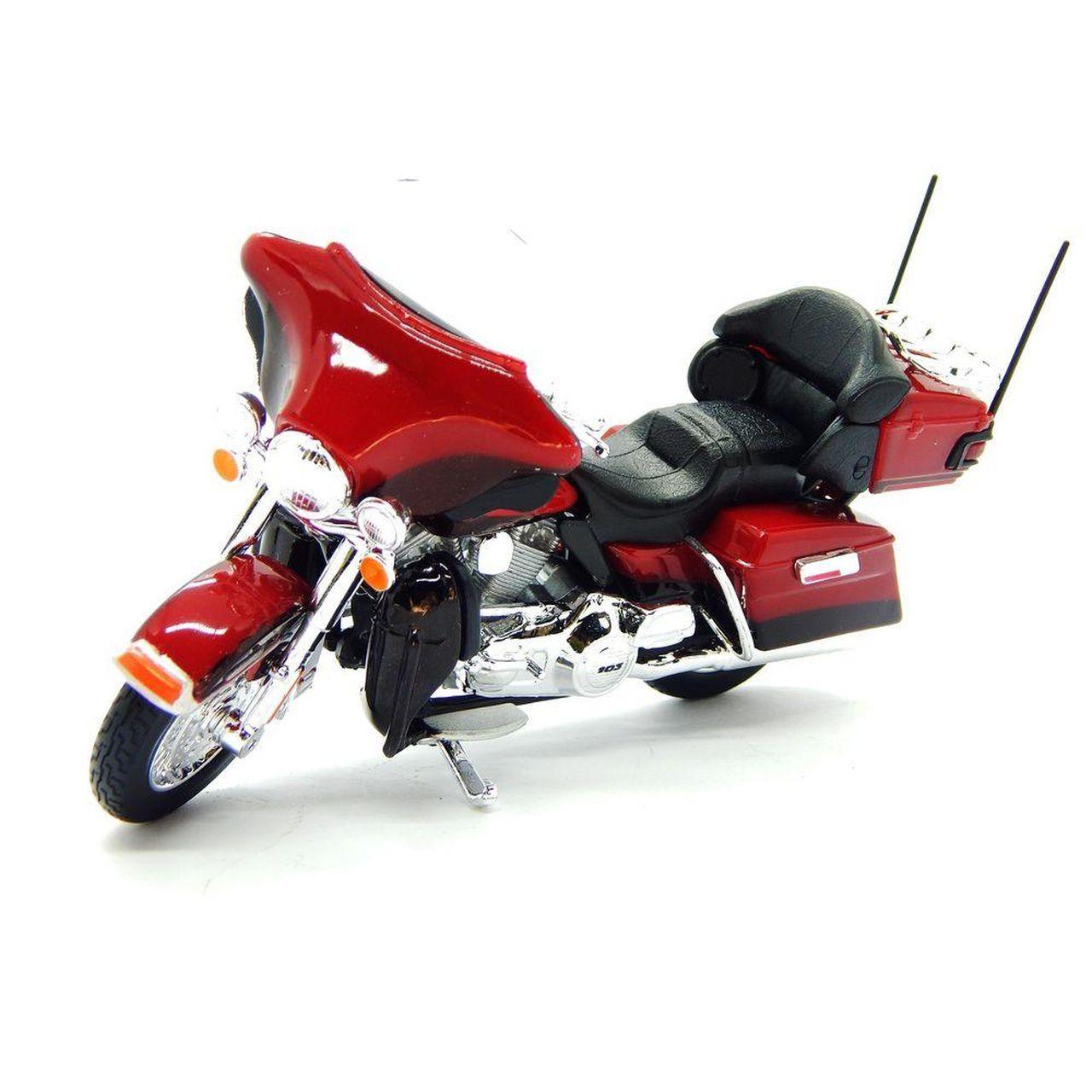 Miniatura Moto 2013 FLHTK Electra Glide Ultra Limited: Harley Davidson (Serie 34) Escala 1/18 - Maisco