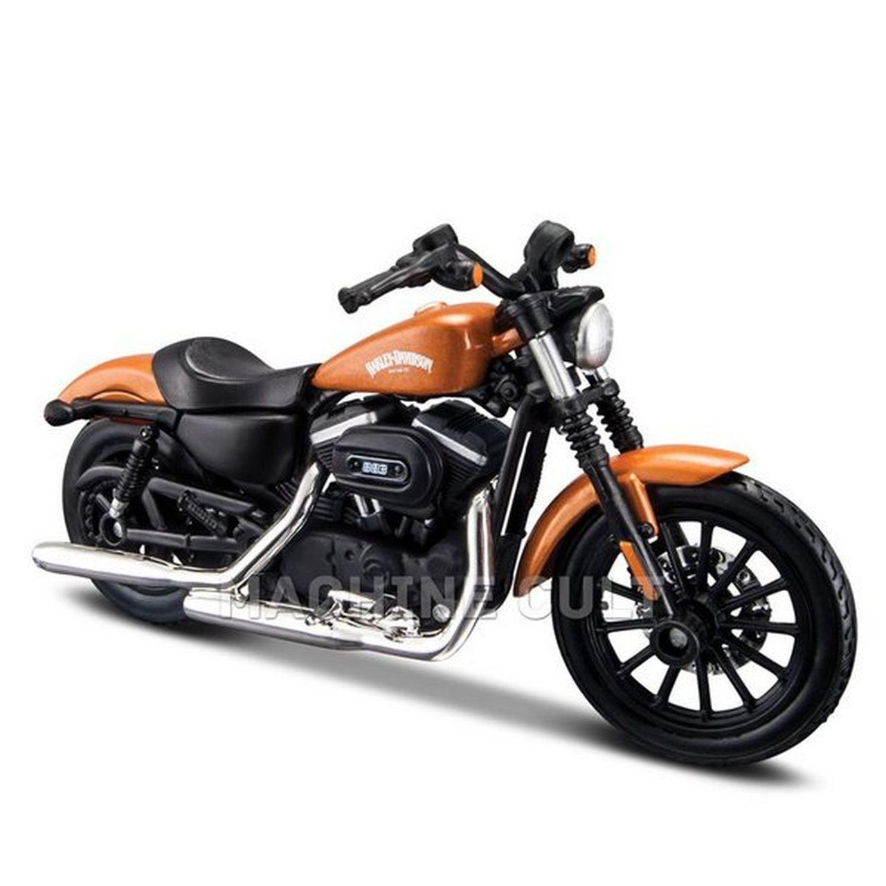 Miniatura Moto 2014 Sportster Iron 883: Harley Davidson (Serie 34) Escala 1/18 - Maisco