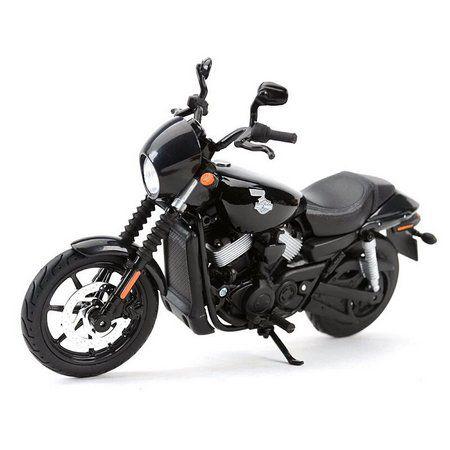 Miniatura Moto 2015 Street 750: Harley Davidson (Serie 34) Escala 1/18 - Maisco