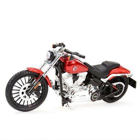 Miniatura Moto 2016 Breakout: Harley Davidson (Serie 35) Escala 1/18 - Maisco