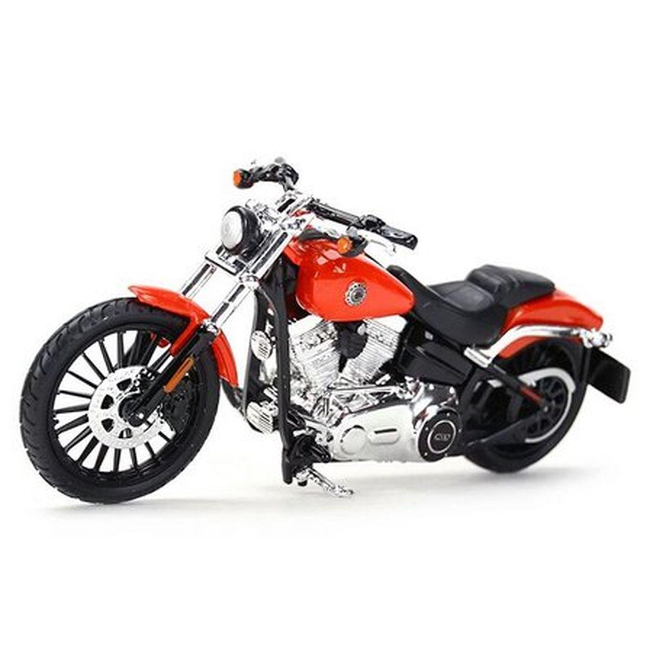 Miniatura Moto Breakout 2016 (Serie 36): Harley Davidson (Escala 1/18) - Maisco