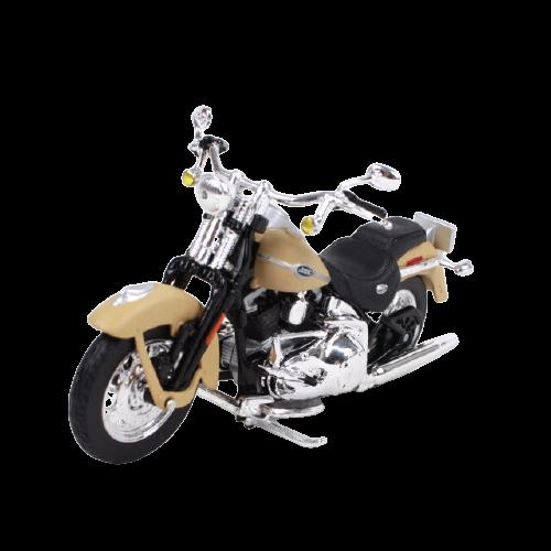 Miniatura Moto Harley-Davidson FLHTCUI Ultra Classic Eleetra Glide - 2005 - Bége - 1:18 - Maisto - MKP
