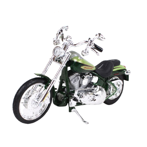 Miniatura Moto Harley-Davidson FXSTDSE2 CVO - 2004 - Verde - 1:18 - Maisto - MKP