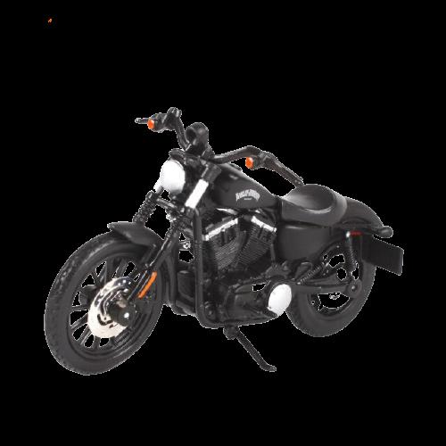 Miniatura Moto Harley-Davidson Sportster Iron 883 - 2014 - Preta - 1:18 - Maisto - MKP