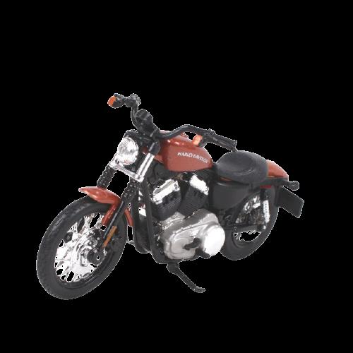 Miniatura Moto Harley-Davidson XL 1200N Nightster - 2007 - Vinho- 1:18 - Maisto - MKP