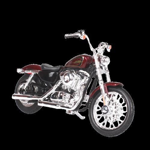 Miniatura Moto Harley-Davidson XL 1200V Seventy Two - 2012 - Vinho - 1:18 - Maisto - MKP