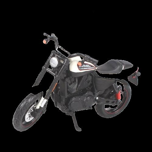 Miniatura Moto Harley-Davidson XR 1200X - 2011 - Branco - 1:18 - Maisto - MKP