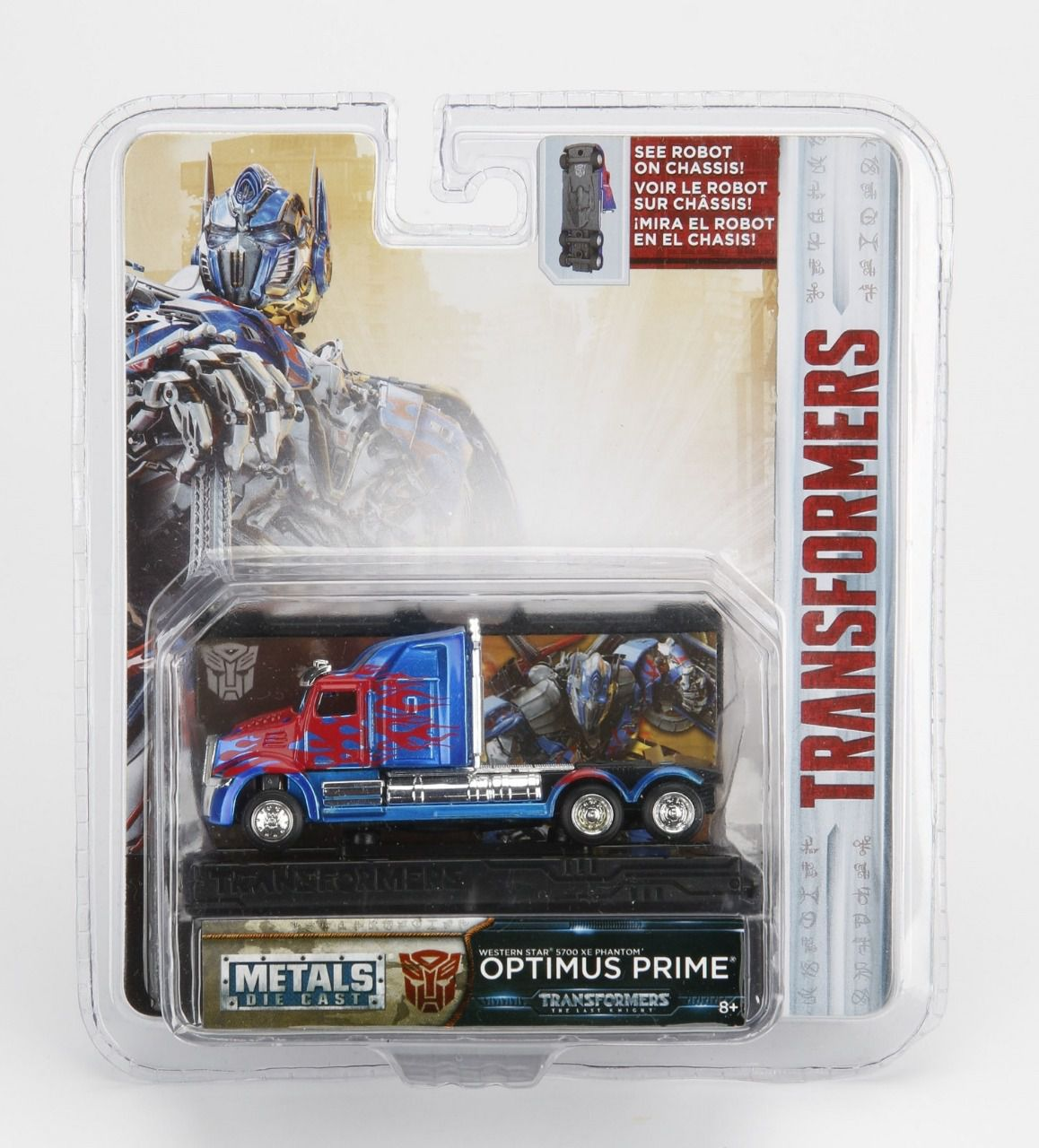 Miniatura Optimus Prime: Transformers (Collector´s Series) Escala 1/64 - Jada