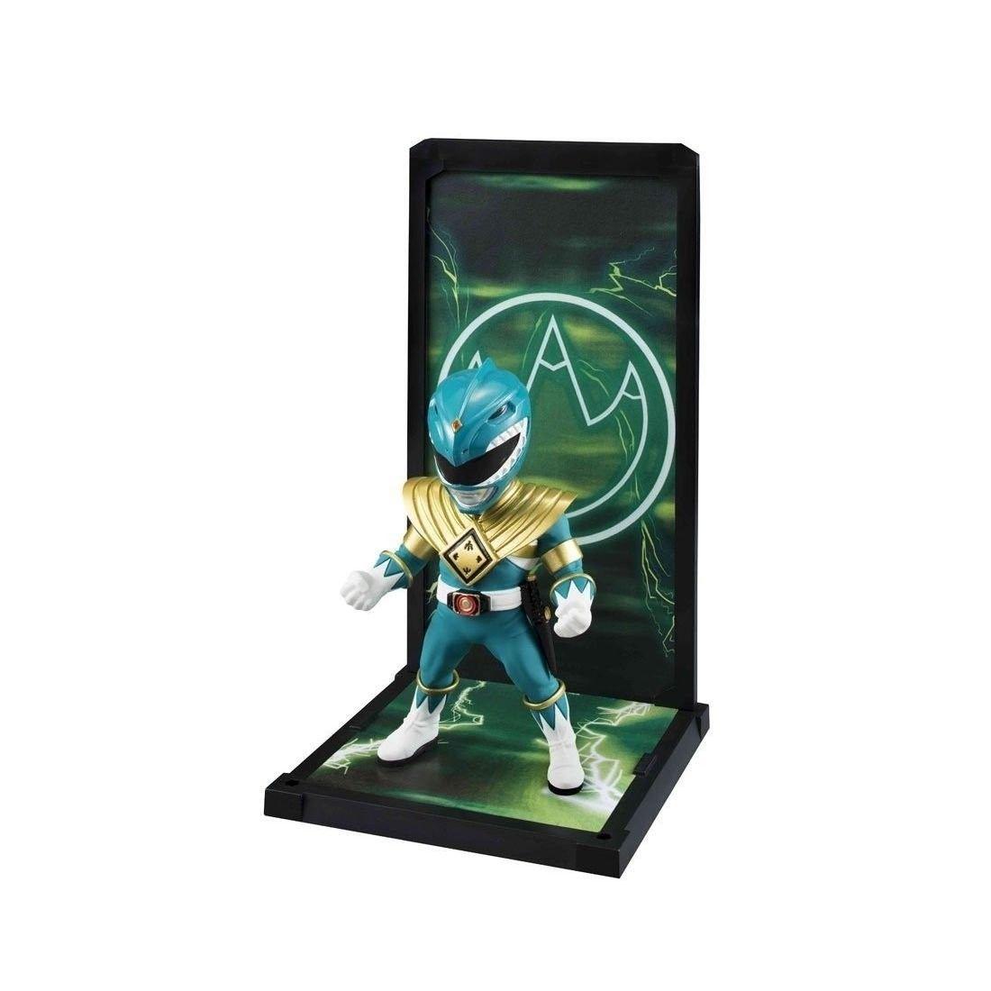 Miniatura Ranger Verde: Power Rangers Tamashii Buddies - Bandai