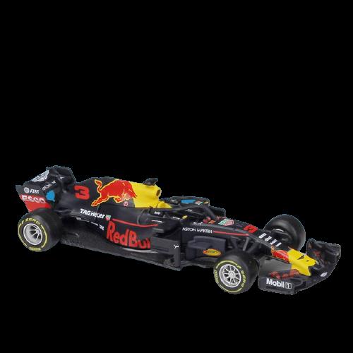 Miniatura Red Bull Racing Aston Martin RB14 Numero 3: Daniel Ricciardo Fórmula 1 (1/43) - Bburago - MKP
