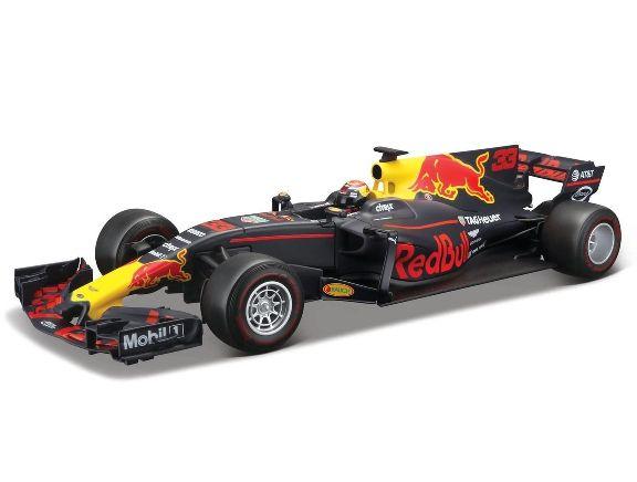 Miniatura Red Bull Racing Tag Heuer (RB 13) 2017 Número 33: Fórmula 1 (Escala 1/18) - Burago