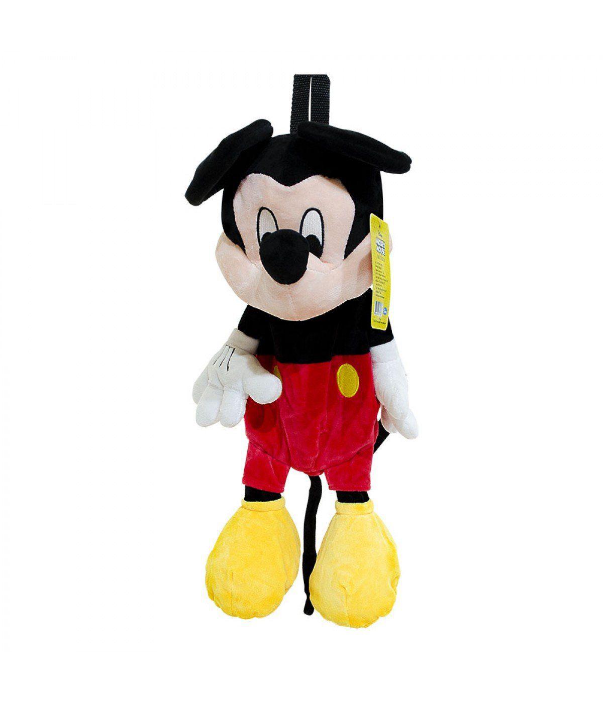 Mochila de Pelúcia Mickey Mouse (Disney)