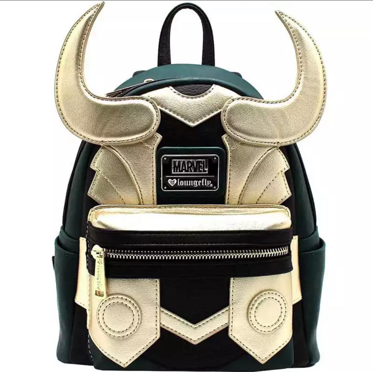 Mochila Geek Loki: Marvel Loungfly - EV