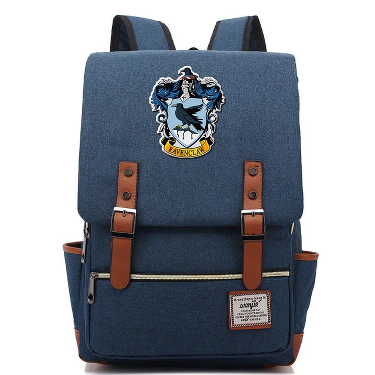 Mochila Hogwarts Casa Corvinal: Harry Potter (Azul Marinho)
