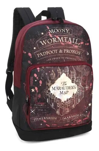 Mochila Mapa do Maroto: Harry Potter