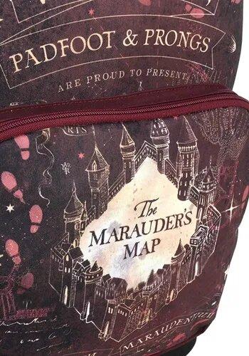 Mochila Mapa do Maroto: Harry Potter