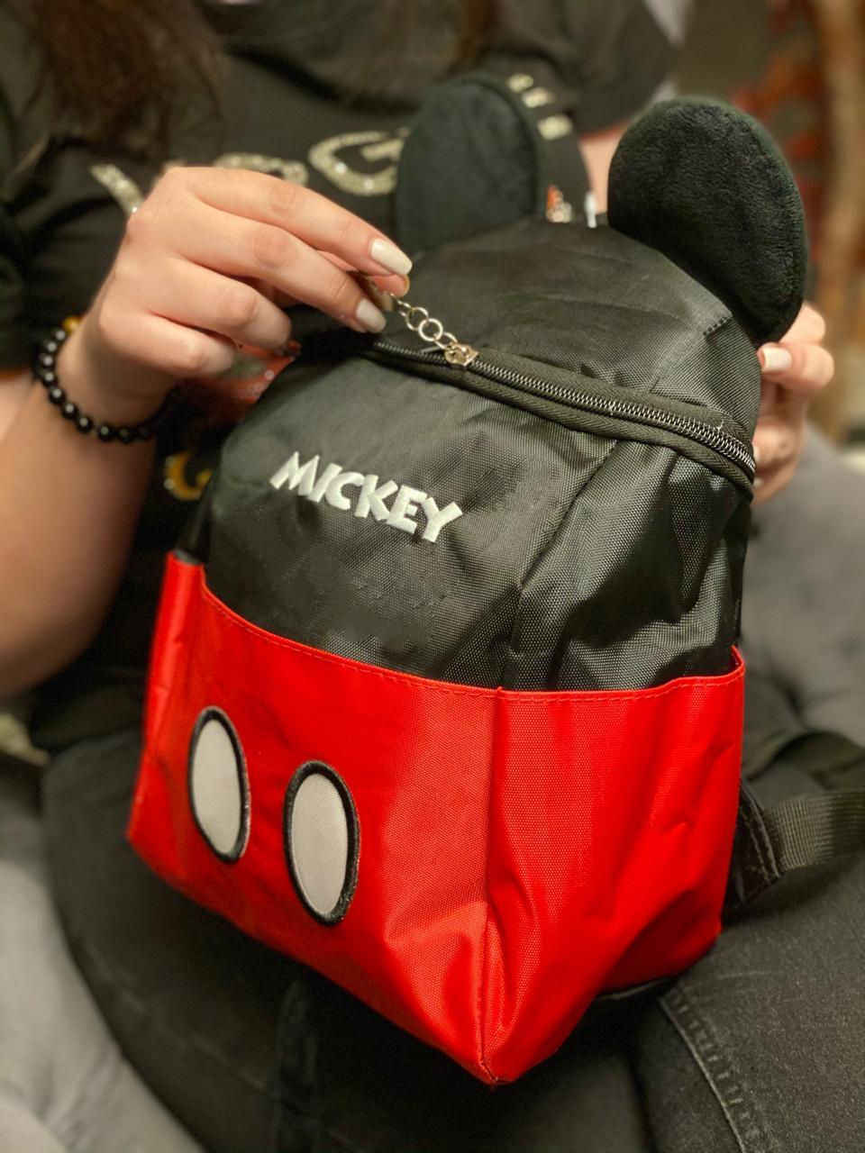 Mochila Mickey com Orelhas