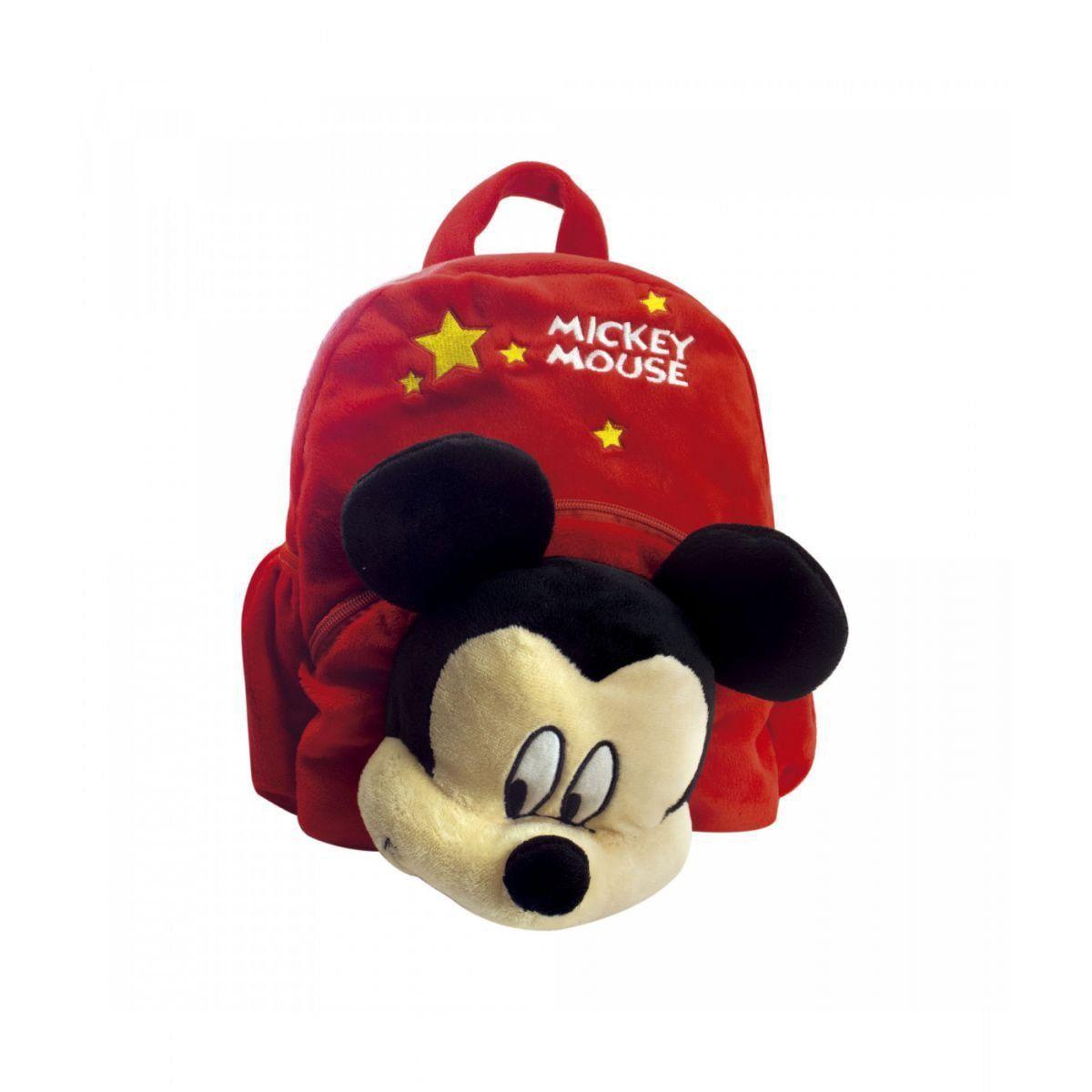 Mochila Mickey Mouse de Pelúcia - Disney
