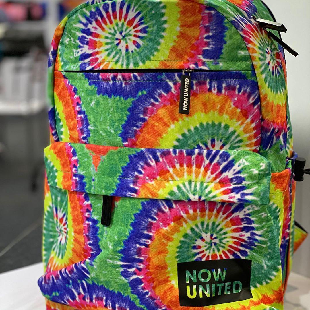 Mochila Now United (Tie Dye)