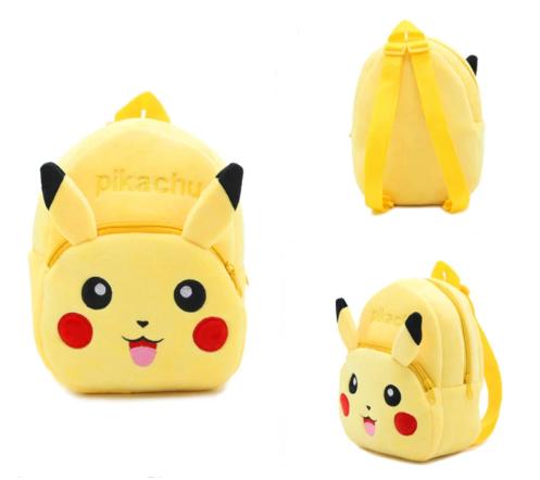 Mochila Pequena Pikachu Pokémon Anime Mangá - MKP
