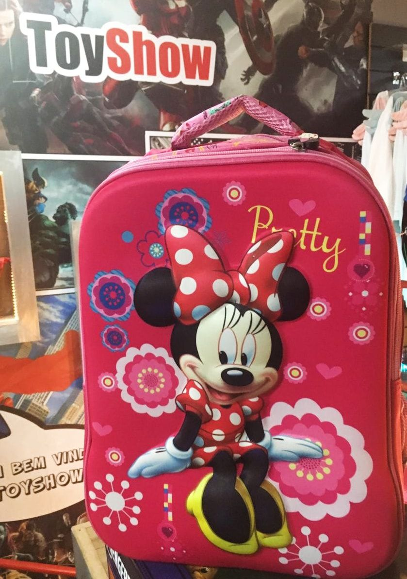 Mochila Personagem Minnie: Disney