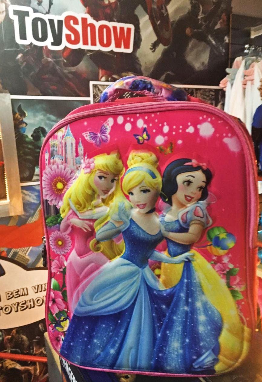 Mochila Personagem Princesas: Disney