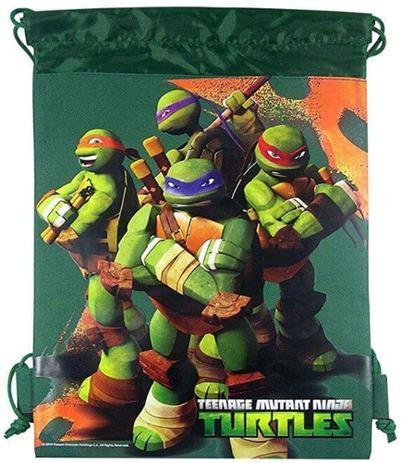 Mochila Sacola As Tartarugas Ninja (Teenage Mutant Ninja Turtles)