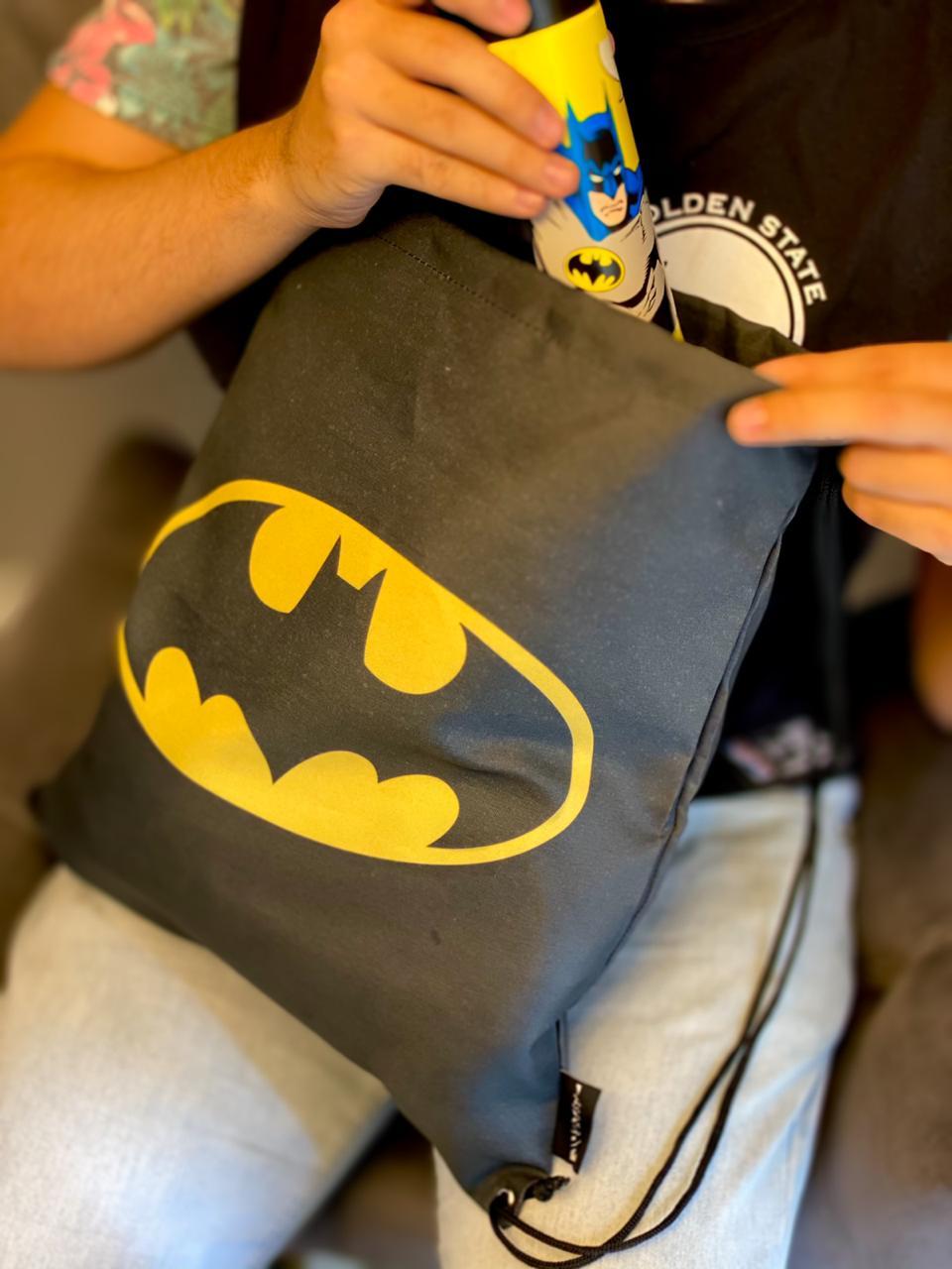 Mochila Sacola: Batman - Zona Criativa