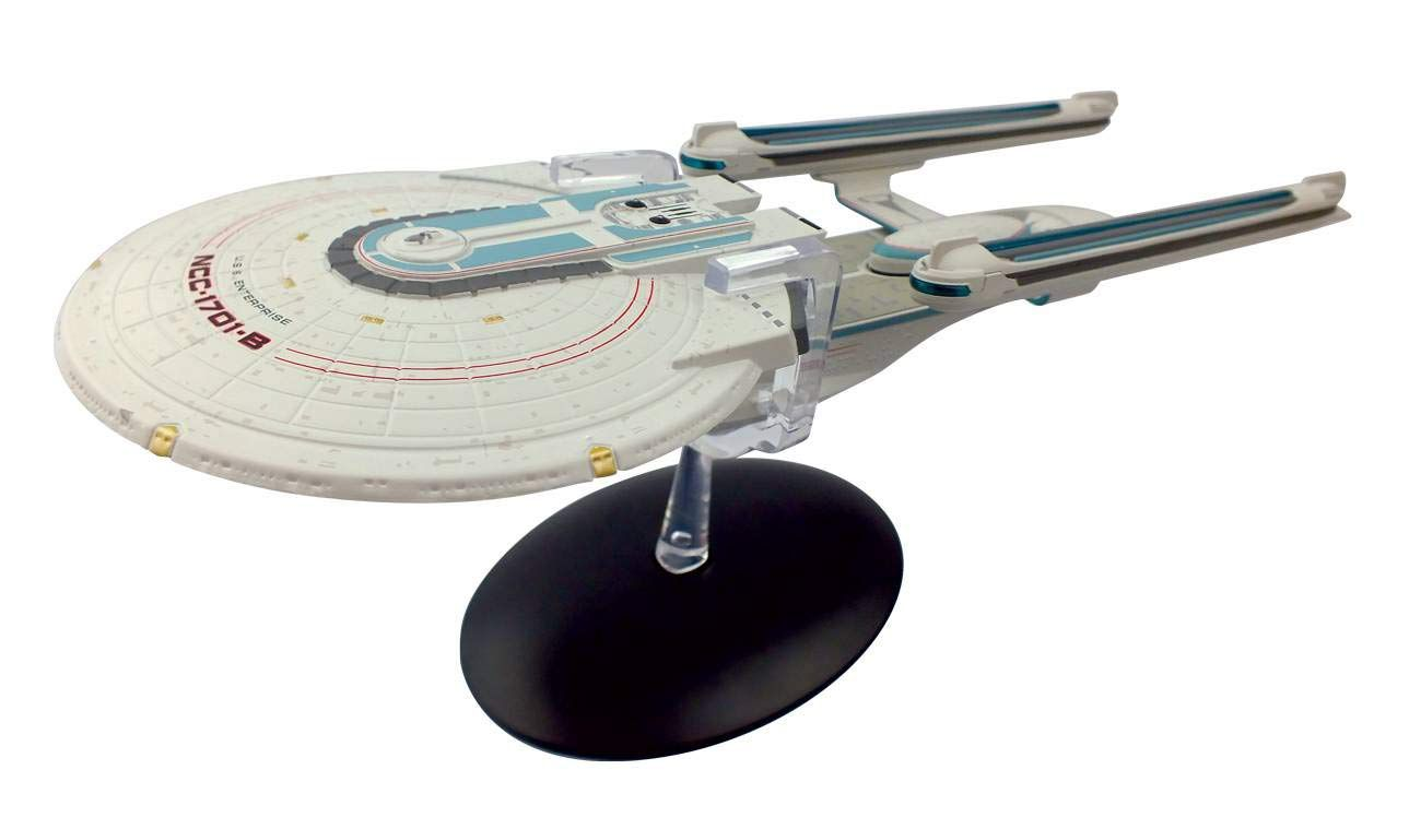 Modelo Nave U.S.S. Enterprise NCC-1701-B: Star Trek (Collectors Model Special Edition) - Eaglemoss