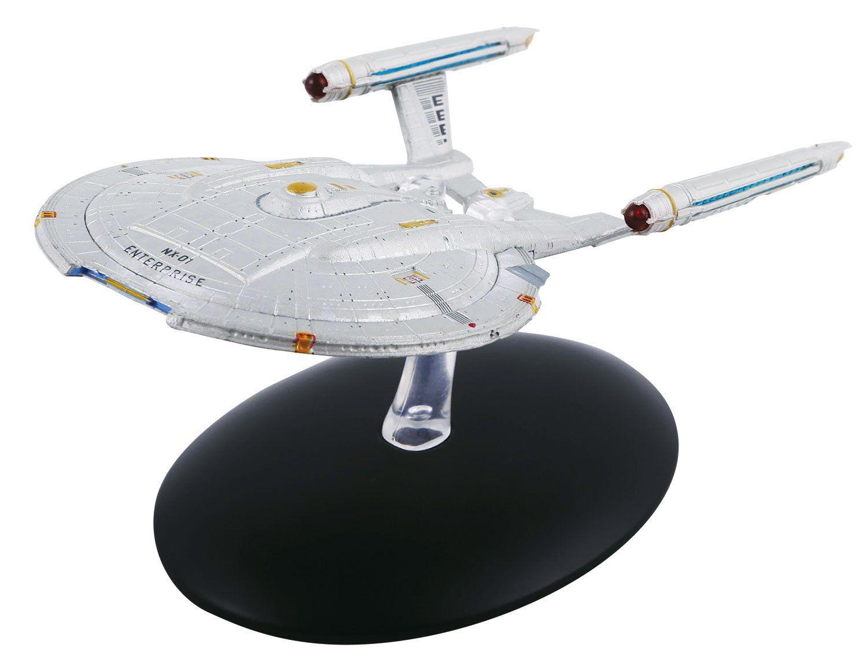 Modelo Nave U.S.S. Enterprise Nx-01: Star Trek (Collectors Model) - Eaglemoss