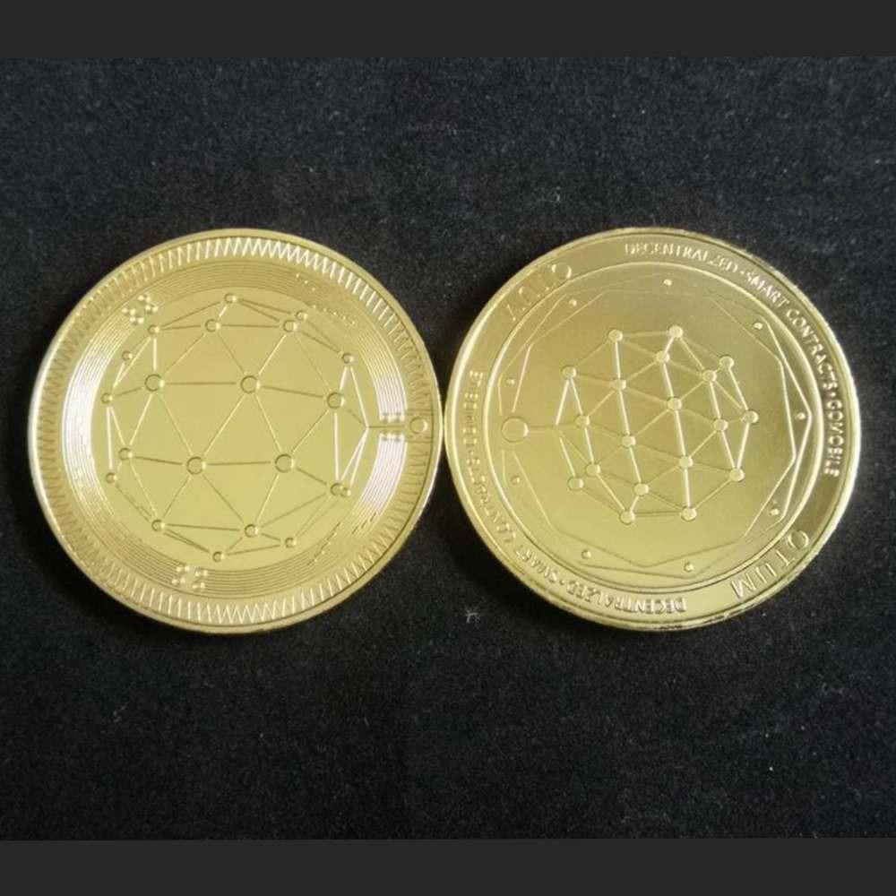Moeda Decorativa Otum Trader Criptomoedas - EVALI