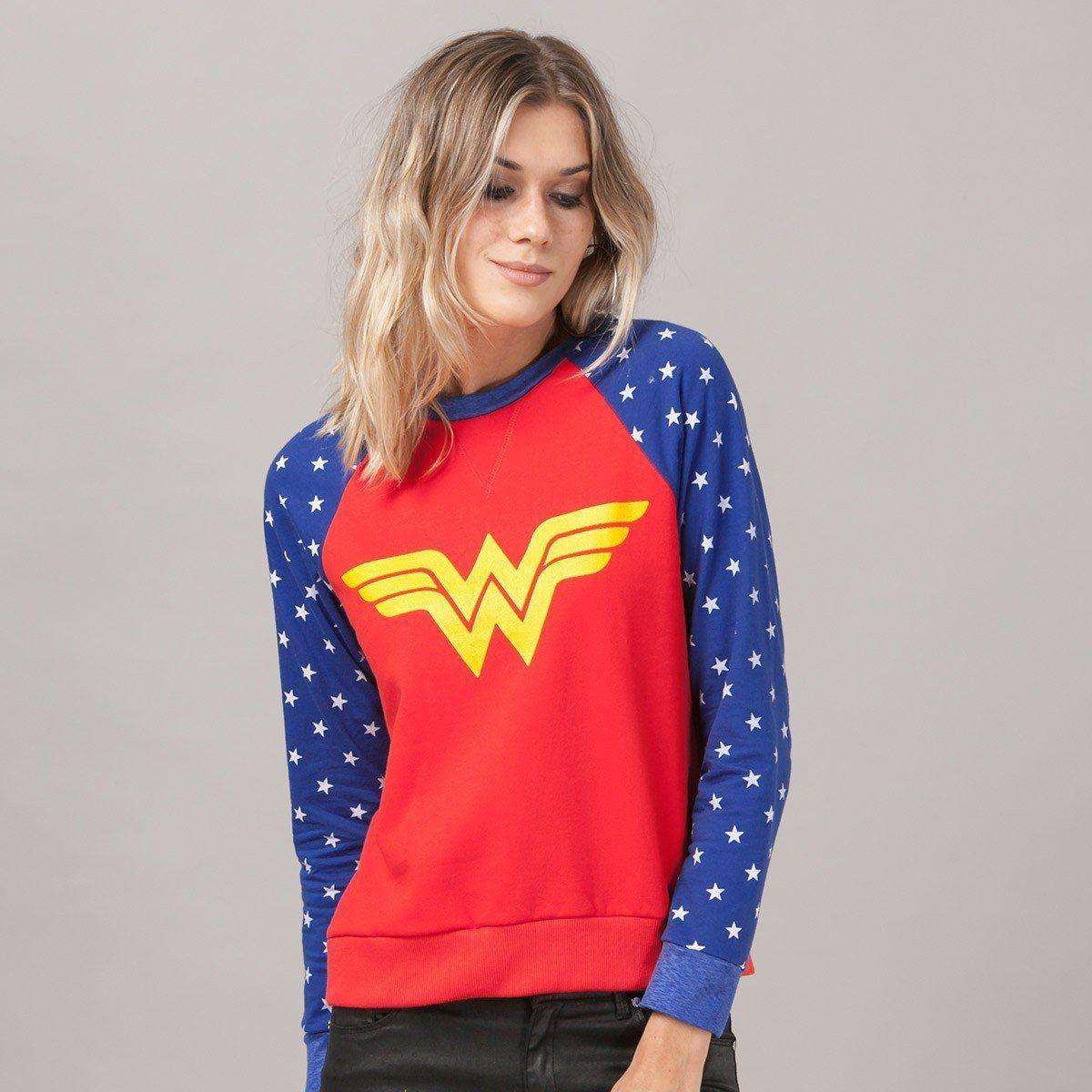 Moletom Oficial Mulher Maravilha (Wonder Woman): DC Comics