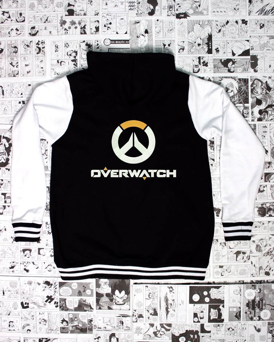 Moletom Com Capuz Logo Overwatch - CD