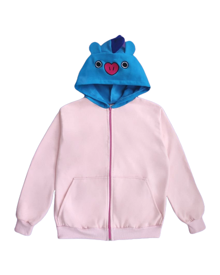Moletom Com Capuz Mang (Unicórnio): BT21 - CD