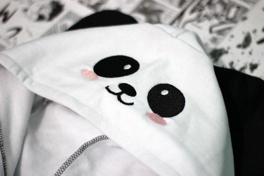 Moletom Com Capuz Panda - CD